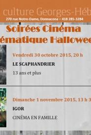 Soirées cinéma halloween